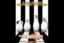 Os Pinguins de Madagascar / desenho e série
