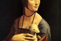 arte - Leonardo da Vinci (1452-1519) / arte - pittore, ingegnere e scienziato italiano