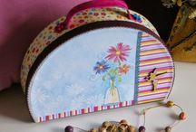 caixa de tresors / caixes decorades per guardar tresors