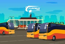Bus and flight tickets booking on online / Online bus ticket booking
