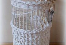 papierové košíky