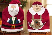 Cubre sillas de navidad