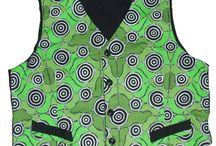 Aboriginal Design Vests / Aboriginal Design Vests