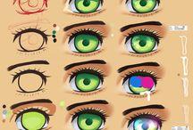 눈(eye) / 역시 얼굴하면 눈이죠! 눈으로 잘생기거나 못생긴 얼굴로 만들어 주는 성형마법이죠!