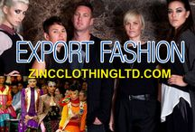 Export Fashion / Zinc Clothing is quite deft to export fashion apparels. With a huge stock of apparels for both men and women, it supplies clothing to both businesses and retailers at an affordable rate. Going through the collection will help to know more.  http://zincclothingltd.com/about/