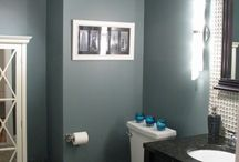 bathroom re-do / by Megan Schleicher