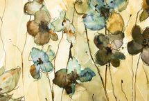 annemiek groenhout flower design watercolor