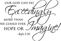 Awesome Scripture! / by Lisa Green