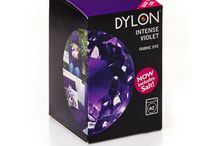 DYLON Kristal Mor - Intense Violet - Fabric Dye With Salt