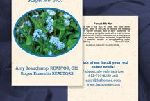 Custom Seed Packets for Realtors / See examples of other Realtors' seed packet designs.