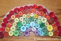 Button Crafts / Make a variety of fun crafts using buttons. / by Sherri Osborn {Family Crafts}