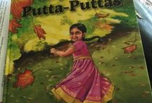 Princesses Only Wear Putta Puttas By Priya Mahadevan / A charming story of a little girl who visits India and comes back home to the US where she wants to continue being an indian princess - with beautiful illustrations