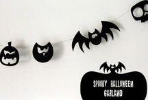 Halloween ( sem açúcar) / Decoração e ideias ( sem açúcar!) para o Halloween