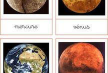 Thème : les planètes