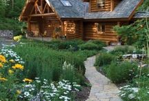 Log Cabin in the Woods / Cozy Log Cabins