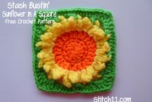 Granny Square CAL / Inspiration/patterns for Knot Your Nana's Crochet's CAL