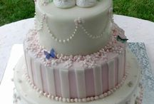 Babies Christening and Birthday Cakes