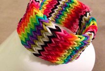 #armswag / I'm addicted with rainbow loom these days ❤️