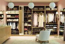 Dream House - Closets / by Glitterbelle