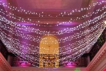 Ideas for using Pealights and Festoons / Ideas and examples of theming and decoration by Stressfreehire using pealights and festoons.