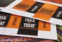 Halloween Printables / by Tonya Nunn
