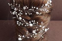 Düğün saç modelleri / saç modeli