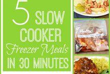 Freezer Meals Crock Pot / by Tabitha Corless
