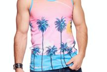 Festival Tops / festival tank tops and shirts for men and women. fancy, crazy, colourful and pretty!