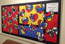 1 grade art projects
