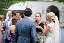 Bruiloft / Bruiloft, bruidstaart, caravan op locatie, foodtruck, heerlijke koffie met gebak voor je receptie en meer!