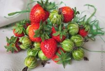 ягоды с полимерки