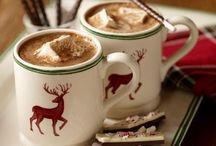 Winter, hot chocolate, tea, Coffee