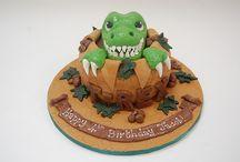 Dino cakes / 4!