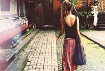 Bohemian fashion / Because I want to dress like this!!