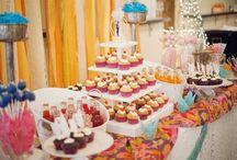 Dessert & Candy Tables