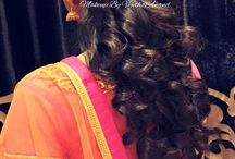 reception hairdo