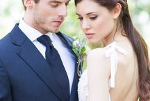 W E D D I N G | Hair and Make Up / Wedding hair and make up inspiration from Cecelina Photography.