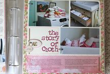 Scrapbooking Madelyn's first year
