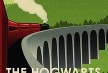 Vintage travel posters (scifi)