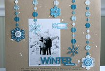 Scrapbooking Layouts I Love / These layouts each have something unique that caught my eye.