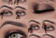 Make-up  / Really pretty make-up ideas! / by Catherine Williams