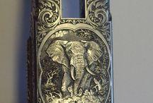 Rifle engraving