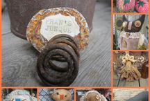 """thebagglady76 ETSY SHOPPE~ / My Funky Farm House Etsy Shoppe is filled with my Fun N Funky Dolls n Critters!! My CROWS and PIGGS are my most popular Dolls!! Check out my shoppe Signature """"COFFEE CUP COZIES"""" too!!  I love challenges making and designing my creations. I am always up to something new n funky!! Message me with any questions or Special Orders!! THANKS for stopping by!!! XOXO Love Fran."""
