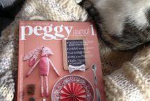 I numeri di Peggy! / Il nuovo bimestrale italian dedicato al mondo handmade e decor. Perchè i sogni spesso si realizzano con ago e filo.