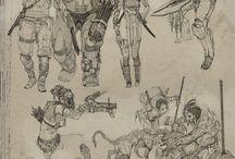 Sketching / Зарисовки идеи