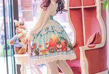 ファッション ガーリー