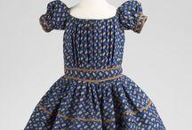 Mid 19th century children's clothing