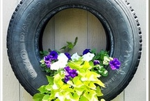 Ideas for old tyres