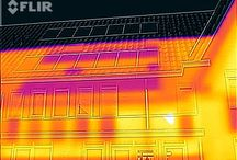 Thermal Imaging. THE OUTSIDE OF A ORDINARY HOME! / WHERE GOES THE ENERGY?