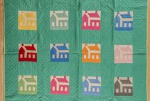 HOUSES QUILTS